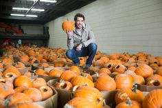 The Property Brothers' Drew and Jonathan Scott go head-to-head as they help two cities battle to see which can carve and display the most lit jack-o'-lanterns and set a new Guinness World Record in the process. Tune in Halloween night (tonight!) at 9/8c.  http://www.hgtv.com/pumpkin-wars/show/index.html