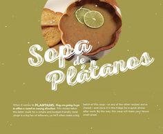 BG Holiday 2014, sopa de platanos, Cuban soup, Cuban recipes, cooking, design, Brunet-Garcia Advertising