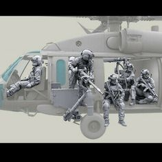 Military Tactics, Military Weapons, Military Art, Military Figures, Us Special Forces, Special Ops, Plastic Model Kits, Plastic Models, German Submarines