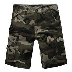e099ad9c78 Cheap shorts men, Buy Quality mens shorts directly from China camo shorts  men Suppliers: New Hot 2017 shorts men new Camo XL Capris overalls pocket  multi ...