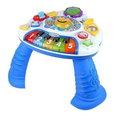Baby Einstein Discovering Music Activity Table Kids II ❤ liked on Polyvore featuring baby