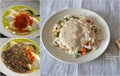 Απλή λαχανοσαλάτα σκέτη ή με σάλτσα γιαουρτιού - cretangastronomy.gr Mashed Potatoes, Eggs, Breakfast, Ethnic Recipes, Food, Whipped Potatoes, Morning Coffee, Smash Potatoes, Essen