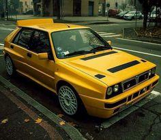 Maserati, Dream Cars, Hatchback Cars, Lancia Delta, Yellow Car, Top Cars, Car Tuning, Performance Cars, Modified Cars