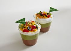 This seven-layer starter calls for bean dip, creamy guacamole, silky sour cream and a host of party-worthy toppings. A mini toothpick flag finishes the look. Just don't forget the tortilla chips!