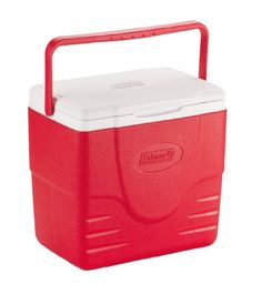 Coleman 16-Quart Excursion Cooler, Red - http://www.campingandsleepingbags.com/coleman-16-quart-excursion-cooler-red/