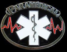 PARAMEDIC EMERGENCY SNAKE MEDICAL MEDICINE DOCTOR BELT BUCKLE BOUCLE DE CEINTURE
