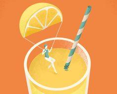 Ознакомьтесь с этим проектом @Behance: «Editorial illustrations for Freundin» https://www.behance.net/gallery/50655703/Editorial-illustrations-for-Freundin
