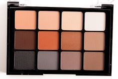 Viseart Neutral Matte (01) Eyeshadow Palette Viseart Neutral Matte (01) Eyeshadow Palette ($80.00 for 0.84 oz.) contains twelve matte (well, mostly) neutra
