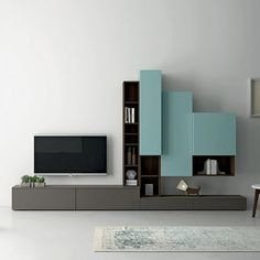 Contemporary Italian design TV unit Slim I by Dall'Agnese #contemporaryfurniture…