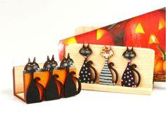 Lustige Bastelanleitung zu Halloween! Gibt's jetzt gratis auf unserer Website! Cute Ideas, Halloween Ideas, Super Simple, Craft Tutorials, Cats, Patterns