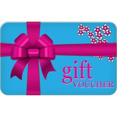 Blossy Bloom gift vouchers can be bought online and emailed directly to the recipient.