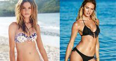 L'estate 2015 sta quasi per arrivare e gli angeli di Victoria's Secret mostrano i costumi della nuova collezione in un servizio fotografico al mar dei Caraibi.