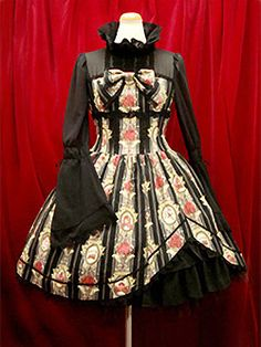 Alice & the Pirates Queen's Coach Print OP - any color (black and red preferred)