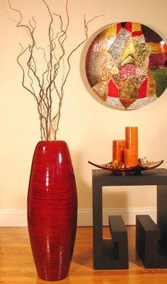 i just love a good floor vase!