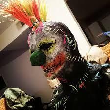 Resultado de imagen para burlap clown mask