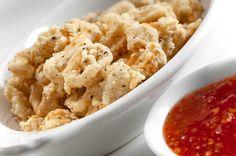 Salt and Pepper Calamari. Its crispy, tender and perfectly seasoned.