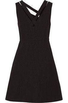 Valentino Linen mini dress | NET-A-PORTER
