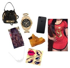 """""""💍💍"""" by royal-nah-queen ❤ liked on Polyvore featuring A Weathered Penny, Michael Kors, Timberland and Moschino"""