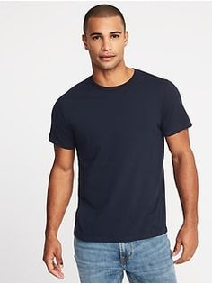 7f4b43df0b4 Soft-Washed Crew-Neck Tee for Men - oldNavy