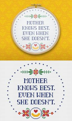 Moms, unite. Kids, listen. Why give mom a needlepoint when you lace on Earth. #Noodlepoint can give her a #Noodlepoint? After all, it has a noodle on it. Make one yourself with this cheesy, easy template. #MothersDay #mom #mother #needlepoint #template #freetemplate #free #freeprintable
