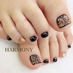 Pedicure Designs, Pedicure Nail Art, Toe Nail Designs, Toe Nail Color, Toe Nail Art, Nail Colors, Pretty Toe Nails, Cute Toe Nails, White Nails