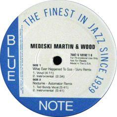 Medeski Martin & Wood - Combustication Remix EP2 / GuruとDan The Automatorによるヒップホップ・リミックス。
