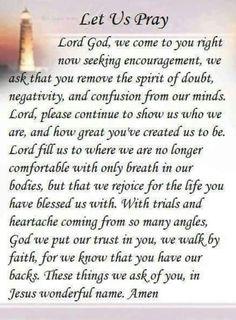 Let us pray Prayer Of Praise, Prayer Scriptures, Bible Prayers, Faith Prayer, God Prayer, Prayer Quotes, Faith Quotes, Bible Verses, Life Quotes
