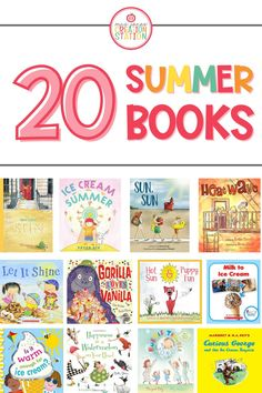 Get your little ones excited for summer! Fill your library with these great summer picture books for early readers. #picturebooks #summer #beginnerreaders