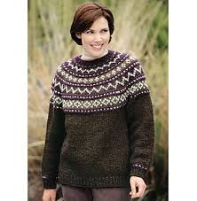 Yoke Sweater pattern by Lion Brand Yarn Ravelry: Yoke Sweater pattern by Lion Brand Yarn Always aspired to discover ways to knit, but unsure how to start. Jumper Knitting Pattern, Jumper Patterns, Chunky Knitting Patterns, Knit Patterns, Cardigan Pattern, Knitting Ideas, Knitting Projects, Lion Brand Wool Ease, Lion Brand Yarn