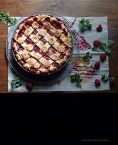 Prospero's raspberry + ale pie | une gamine dans la cuisine