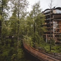 The world's 10 coolest treehouse hotels 8. Nothofagus Hotel & Spa -- Neltume, Chile