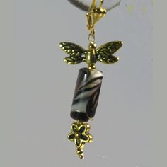 Animal Print, Dragonfly, Daisy Goldplate Leverback Earrings