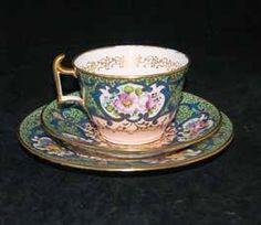 #Copeland #Spode's Floral Pattern #teapot