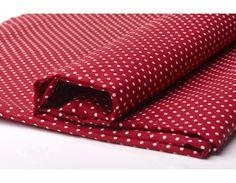 Tissu Pois PM Rouge