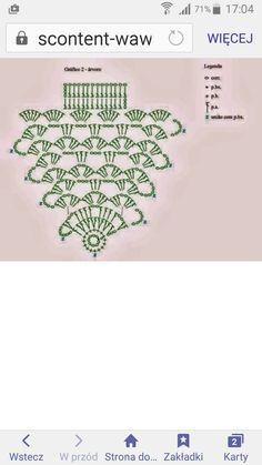 Egyoldalas fenyő Lace Christmas Tree, Xmas Tree, Christmas Tree Ornaments, Christmas Crafts, Christmas Decorations, Crochet Tree, Crochet Ornaments, Crochet Baby, Free Knitting