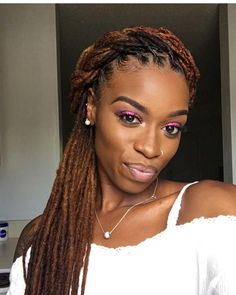 The Beauty Of Natural Hair Board The Beauty Of Natural Hair in measurements 1080 X 1350 Hairstyles For Women With Dreads - Pretty women are well Dreadlock Styles, Dreads Styles, Natural Hair Braids, Natural Hair Styles, Natural Dreads, Long Dreads, Hair Updo, Dreadlock Hairstyles, Braided Hairstyles