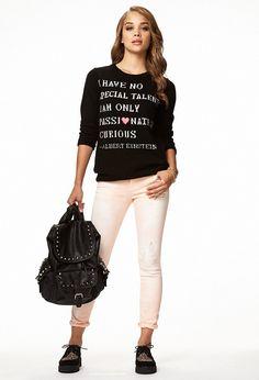 Einstein Sweater | FOREVER21 - 2078566333