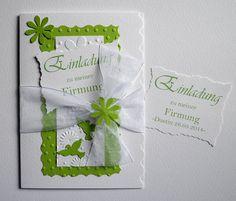 Einladungskarte Konfirmation Kommunion Firmung