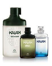 Presente Natura Kaiak - 3 Desodorante Colônia + Embalagem