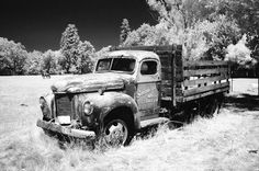 Old truck abandoned in Southern Oregon