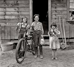 Country kids, 1939