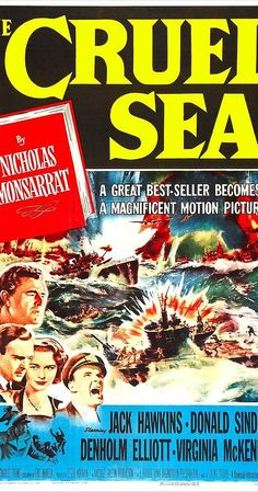 Directed by Charles Frend.  With Jack Hawkins, Donald Sinden, John Stratton, Denholm Elliott. The World War II adventures of a British convoy escort ship and its officers.