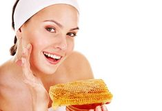 Clean and luminous skin with honey mask, Blackheads On Face, Oatmeal Mask, Honey Face Mask, Acne Spots, Bright Skin, Sagging Skin, Homemade Face Masks, Skin Food, Natural Face