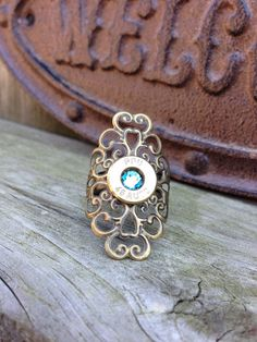 Bullet jewelry. Bullet ring on Etsy, $7.99