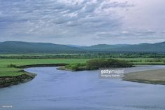 Russia, Siberia, Near Karymskoye, View Of Shilka River With Taiga (forest) In…