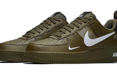 premium selection 388c8 a855d Release Date  Nike Air Force 1 07 LV8 Utility Olive Canvas Zapatos, Air  Force