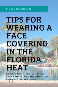 Tips for wearing a face-covering in the Florida heat. Walt Disney World is requiring them, how will you cope with a face mask in the heat? Disney World Vacation, Disney World Resorts, Disney Vacations, Walt Disney World, Disney Travel, Disney World Tips And Tricks, Disney Tips, Disney Dream, Health Advice