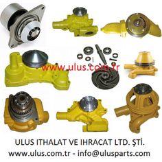 Engine Water pump Komatsu engine spare parts Isuzu Motors, Mitsubishi Motors, Nissan, Cummins Parts, Cummins Motor, Cat Engines, Caterpillar Engines, Engine Pistons, Piston Ring
