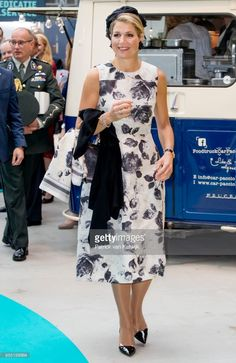 28 September 2017 - Queen Maxim visits the Smart Solutions Expo and attends the World of Health Care congress in The Hague
