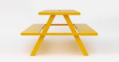 Jennifer Newman Studio UK - Aluminum A-Frame Bench